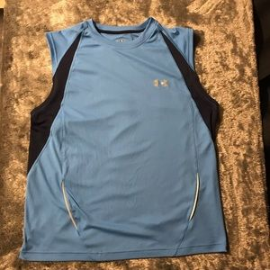 Men's Blue Under Armour Active Wear Heat Gear